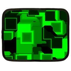 Cyber Glow Netbook Case (xxl)