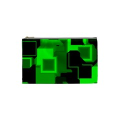 Cyber Glow Cosmetic Bag (Small)