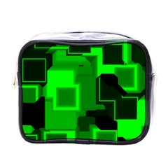 Cyber Glow Mini Toiletries Bags
