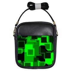 Cyber Glow Girls Sling Bags