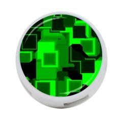 Cyber Glow 4 Port Usb Hub (two Sides)