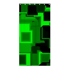 Cyber Glow Shower Curtain 36  X 72  (stall)