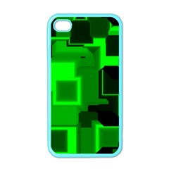 Cyber Glow Apple Iphone 4 Case (color)