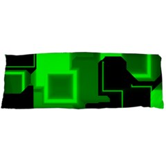 Cyber Glow Body Pillow Case Dakimakura (two Sides)