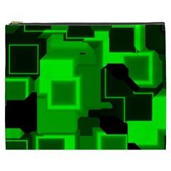 Cyber Glow Cosmetic Bag (xxxl)