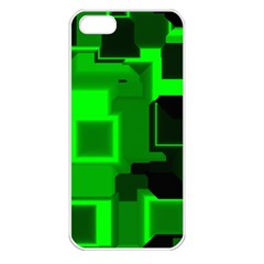 Cyber Glow Apple Iphone 5 Seamless Case (white)