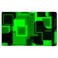 Cyber Glow Apple Ipad 2 Flip Case