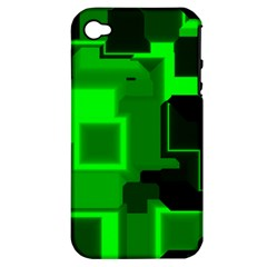 Cyber Glow Apple Iphone 4/4s Hardshell Case (pc+silicone)