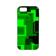 Cyber Glow Apple Iphone 5 Classic Hardshell Case (pc+silicone)
