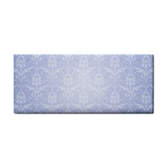Damask Pattern Wallpaper Blue Cosmetic Storage Cases