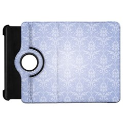 Damask Pattern Wallpaper Blue Kindle Fire Hd 7