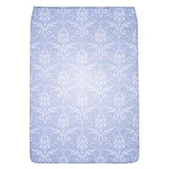 Damask Pattern Wallpaper Blue Flap Covers (s)