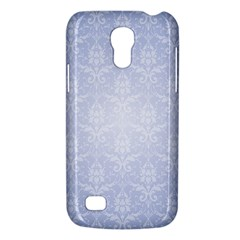Damask Pattern Wallpaper Blue Galaxy S4 Mini