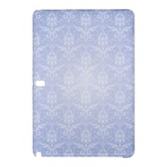 Damask Pattern Wallpaper Blue Samsung Galaxy Tab Pro 12 2 Hardshell Case