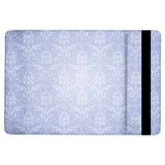 Damask Pattern Wallpaper Blue Ipad Air Flip