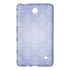 Damask Pattern Wallpaper Blue Samsung Galaxy Tab 4 (8 ) Hardshell Case