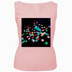 Dance Floor Women s Pink Tank Top