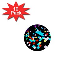 Dance Floor 1  Mini Buttons (10 Pack)