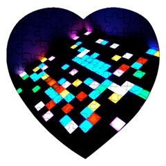 Dance Floor Jigsaw Puzzle (heart)