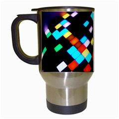 Dance Floor Travel Mugs (white)