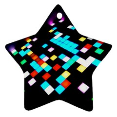 Dance Floor Star Ornament (two Sides)