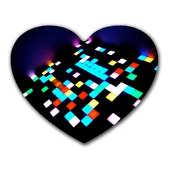 Dance Floor Heart Mousepads