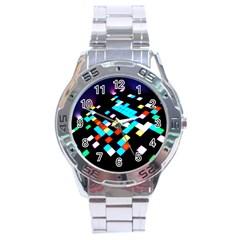 Dance Floor Stainless Steel Analogue Watch