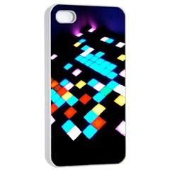 Dance Floor Apple Iphone 4/4s Seamless Case (white)