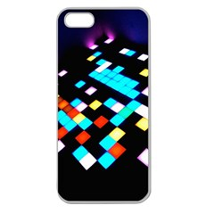 Dance Floor Apple Seamless Iphone 5 Case (clear)