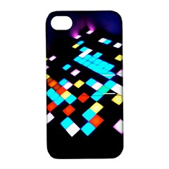 Dance Floor Apple Iphone 4/4s Hardshell Case With Stand