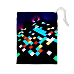 Dance Floor Drawstring Pouches (large)