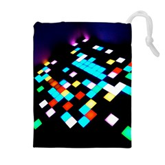 Dance Floor Drawstring Pouches (extra Large)