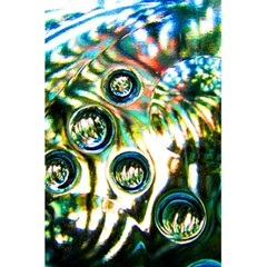 Dark Abstract Bubbles 5 5  X 8 5  Notebooks