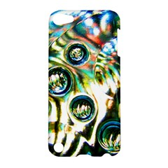 Dark Abstract Bubbles Apple Ipod Touch 5 Hardshell Case