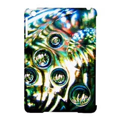 Dark Abstract Bubbles Apple Ipad Mini Hardshell Case (compatible With Smart Cover)