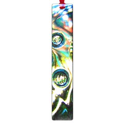 Dark Abstract Bubbles Large Book Marks