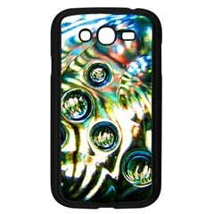 Dark Abstract Bubbles Samsung Galaxy Grand Duos I9082 Case (black)
