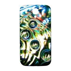 Dark Abstract Bubbles Samsung Galaxy S4 I9500/i9505  Hardshell Back Case