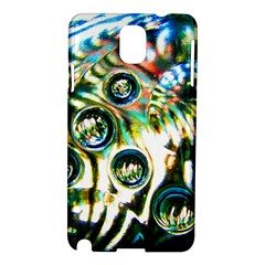 Dark Abstract Bubbles Samsung Galaxy Note 3 N9005 Hardshell Case