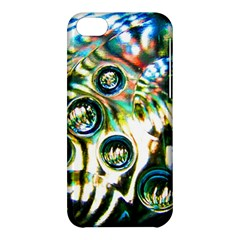 Dark Abstract Bubbles Apple Iphone 5c Hardshell Case