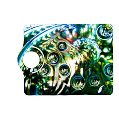Dark Abstract Bubbles Kindle Fire Hd (2013) Flip 360 Case