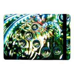 Dark Abstract Bubbles Samsung Galaxy Tab Pro 10 1  Flip Case
