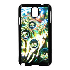Dark Abstract Bubbles Samsung Galaxy Note 3 Neo Hardshell Case (black)