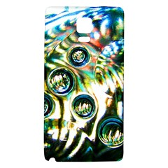 Dark Abstract Bubbles Galaxy Note 4 Back Case
