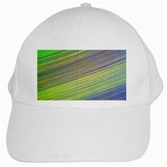 Diagonal Lines Abstract White Cap