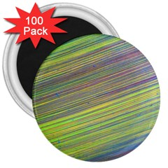Diagonal Lines Abstract 3  Magnets (100 pack)