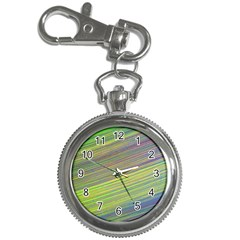 Diagonal Lines Abstract Key Chain Watches