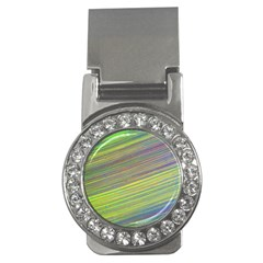 Diagonal Lines Abstract Money Clips (cz)