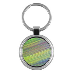 Diagonal Lines Abstract Key Chains (round)