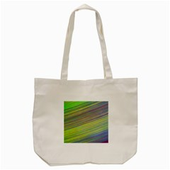 Diagonal Lines Abstract Tote Bag (cream)